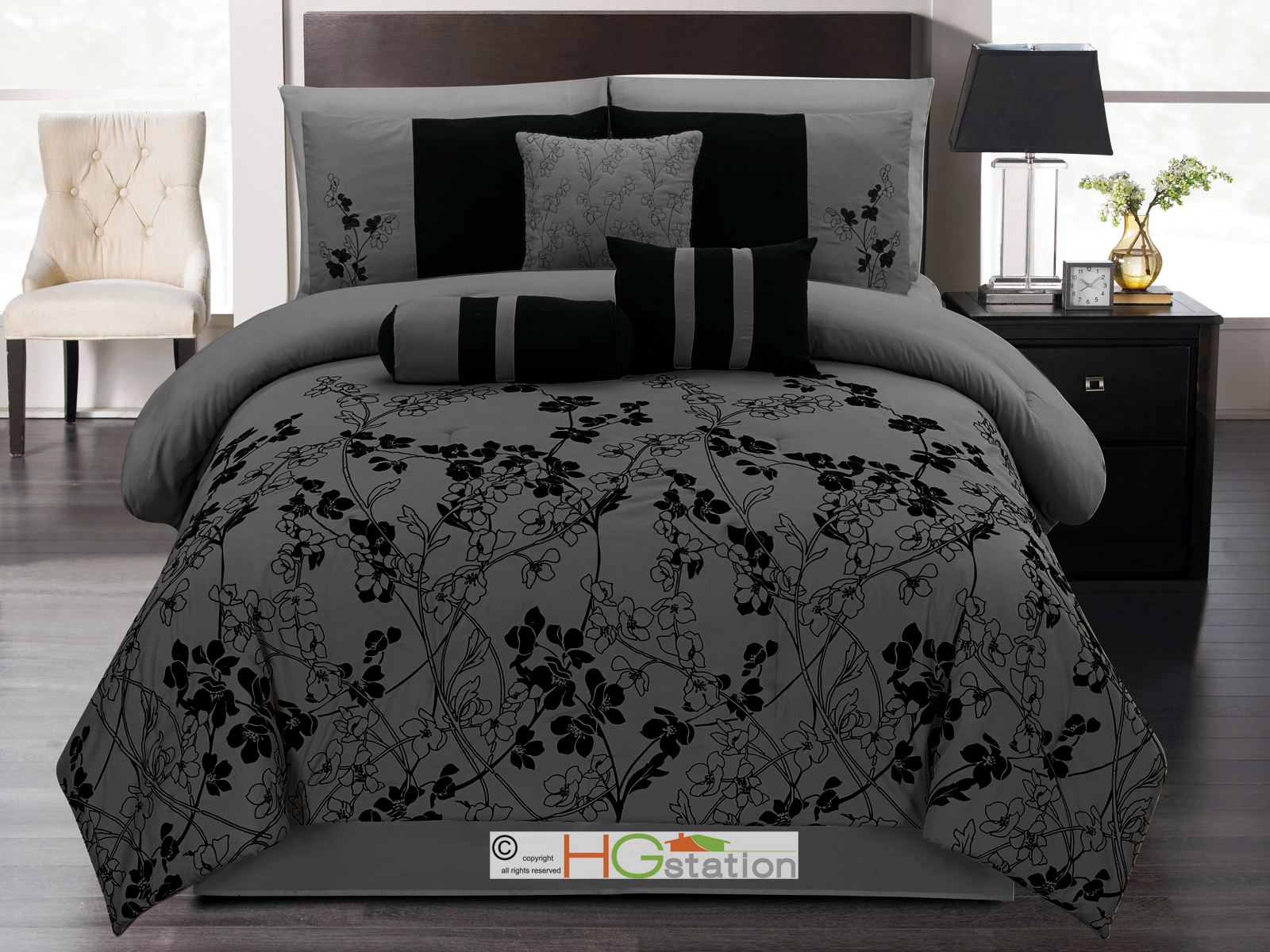 Shop for dark grey comforter sets online at Target. Free shipping on purchases over $35 and save 5% every day with your Target REDcard.