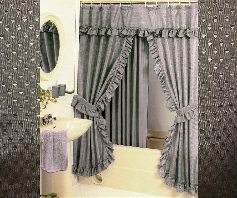 Curtains Pier One Imports Black White Shower Curtai