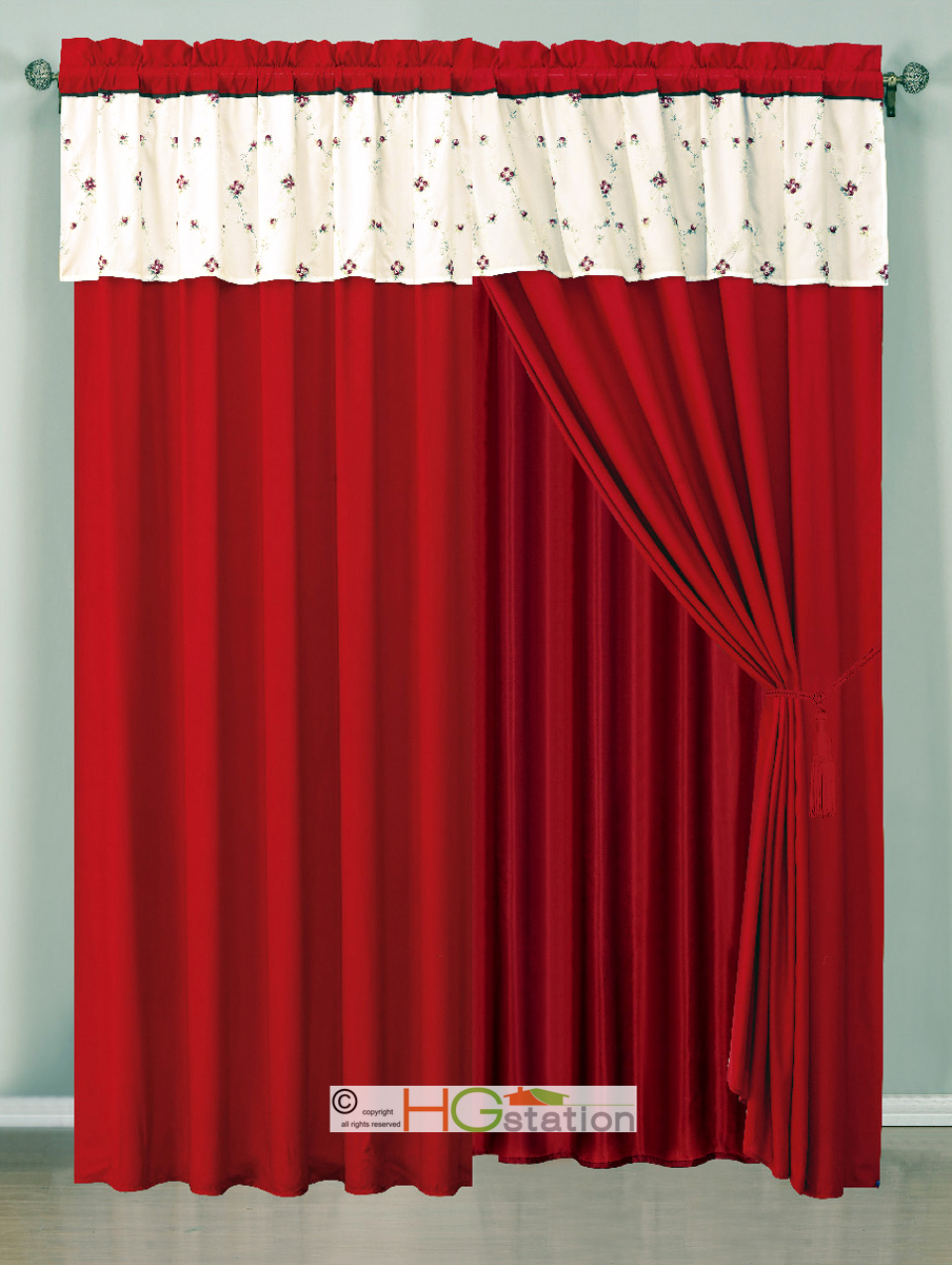 Burgundy sheer curtains Sales amp Deals  Better Homes and